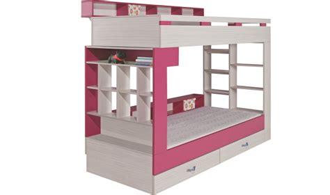 lit superposé avec bureau pas cher lit enfant superpos de qualite blanc et pas cher