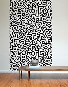 Keith haring adhesive wall tiles stick on blik