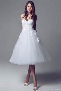 blumarine bridal 2014 wedding dresses wedding inspirasi With short strapless wedding dresses