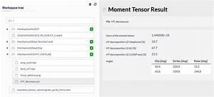 Mechanism  Full Moment Tensor User Guide