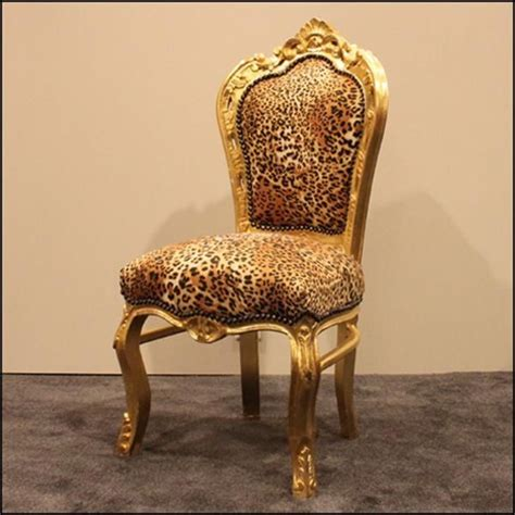 leopard accent chair unique furniture