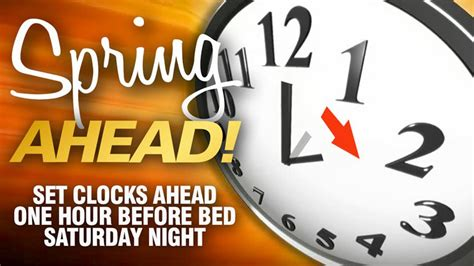 dont forget spring daylight saving time weekend