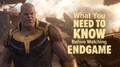 All You Need To Know Before Seeing Avengers
