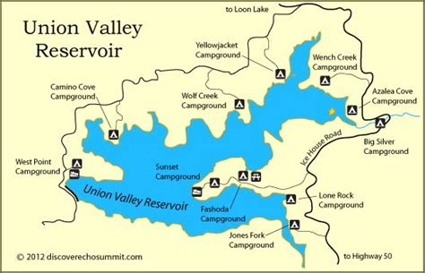 Image result for union valley lake