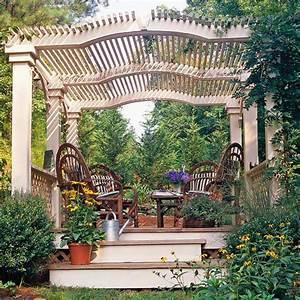Pergola Im Garten. pergola im garten vereinbart sthetische und ...