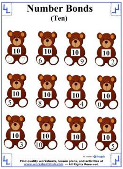 17 best ideas about number bonds to 10 on pinterest number bond games educational math games