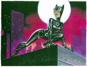 Bruce Timm, Catwoman | WhateverWorks | Pinterest | Batman ...