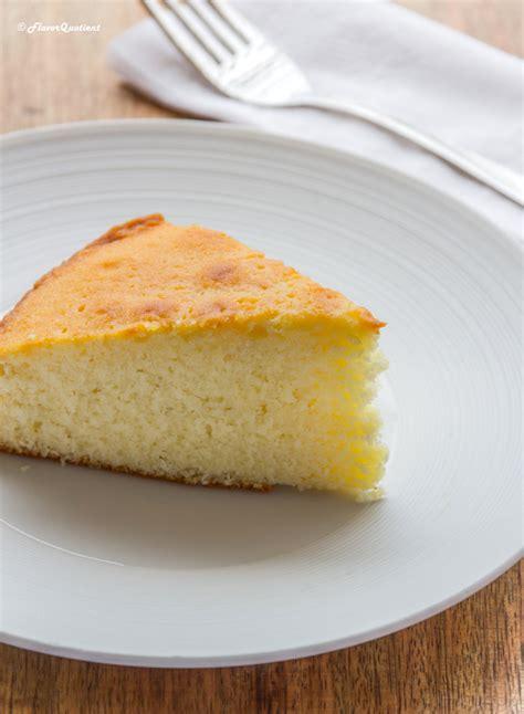 vanilla sponge cake flavor quotient