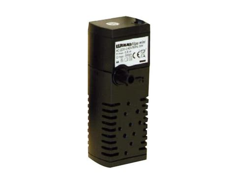 wave filpo mini 200 l h filtre interne avec canne de rejet pour aquarium jusqu 224 30 litres