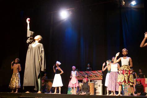 schools stage drama festival  hillbrow groundup