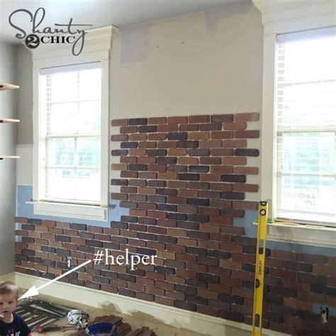 faux brick interior wall image 25 best thin brick ideas on