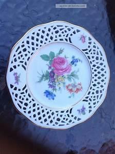 Loch In Porzellan Teller Bohren : sammelteller porzellan bavaria arabella blumendekor goldrand ~ Markanthonyermac.com Haus und Dekorationen