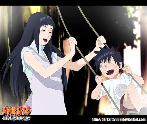 Narutothe Next Generation Hinata And Minato By