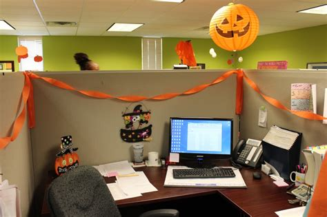 25 creative office cube halloween decorating ideas