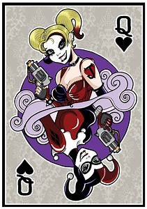 Harley Quinn Playing Card by acatris.deviantart.com on ...