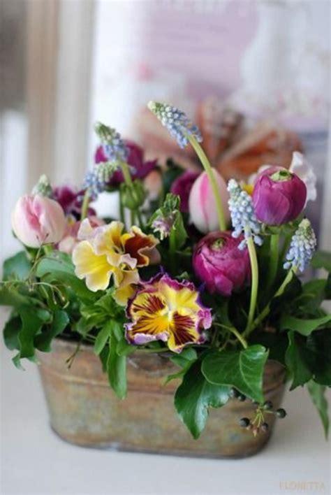 easter floral arrangements 111 spring flower arrangements perfect easter atmosphere fresh design pedia