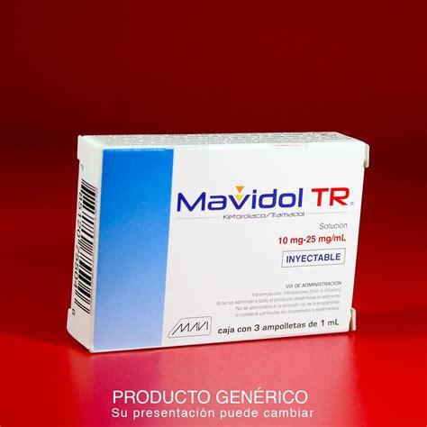 mavidol tr ketorolaco tramadol  ampolletas mg mg ml