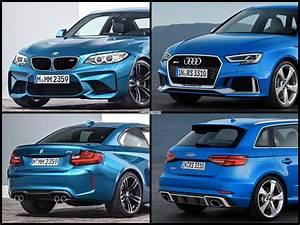 Audi Rs 3 : photo comparison bmw m2 vs audi rs3 sportback facelift ~ Medecine-chirurgie-esthetiques.com Avis de Voitures
