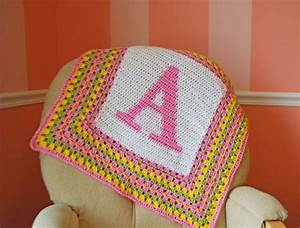 crochet graph pattern making tutorial crochet letters With blankets with letters