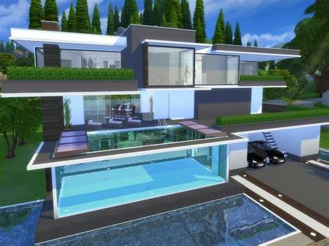 sims  house design ideas  pinterest sims