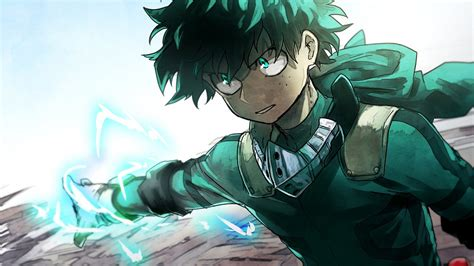 hero academia izuku midoriya power  hd wallpapers