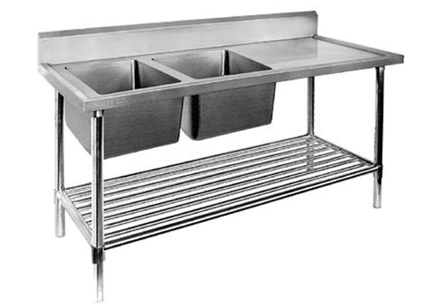 stainless steel food prep table with sink restaurant prep table with sink 1 2 3 sinks stainless