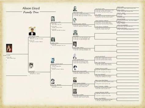 family tree template  blank family tree