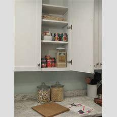 Create A Hidden In Cabinet Cork Board Message Center It's