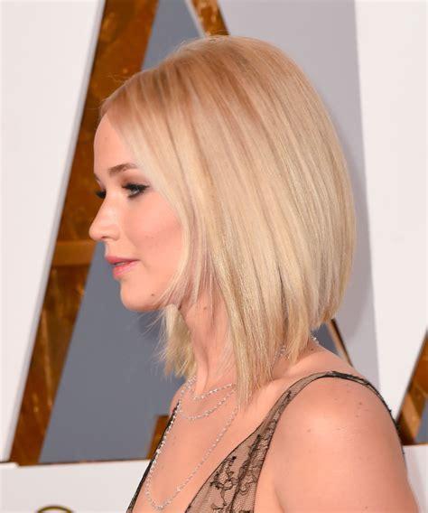 El bob asimétrico de Jennifer Lawrence   Los mejores
