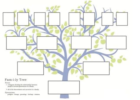 activity days ideas  images family tree project