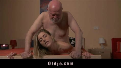 Hot Blonde Teen Fucks Teacher Fat Old Man To Pass