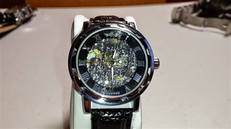 Winner Automatic Mechanical Skeleton Watch Review  Youtube