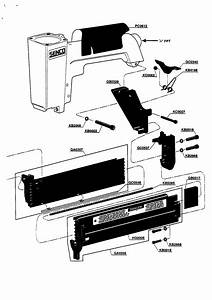 Senco Model Slp20 Nailer Genuine Parts