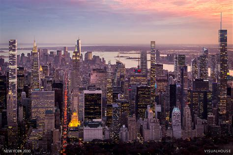 The Future NYC Skyline of 2030; Urban Blight in the W ...