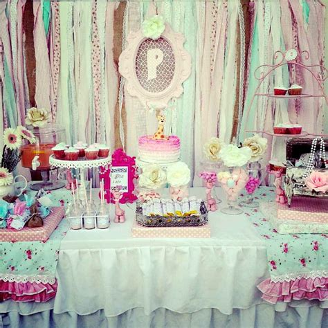 shabby chic themed shabby chic party ideas moms munchkins