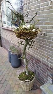 Deko Hauseingang Frühling : sehe dir das foto von leonie mit dem titel osterdekoration f r drau en osternest aus ~ Orissabook.com Haus und Dekorationen