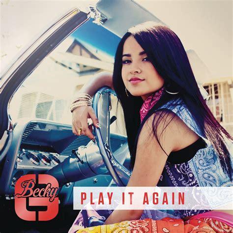 Becky G Play It Again Remix Urbanboss