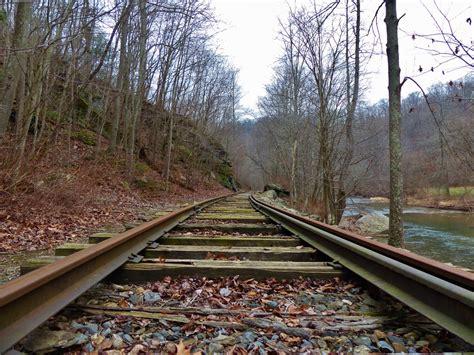 images creek track railroad car vintage