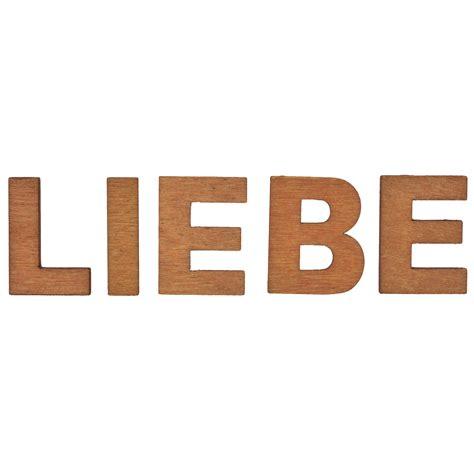 X Schriftzug by 5 X Schriftzug Wort Home Oder Liebe Holzbuchstaben 25mm
