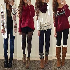 Cute Winter Outfits With Leggings Tumblr | www.pixshark.com - Images Galleries With A Bite!