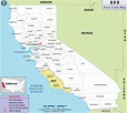 805 Area Code Map, Where is 805 Area Code in California