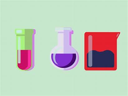 Science Test Tube Bubbles Testtubes Animations Control