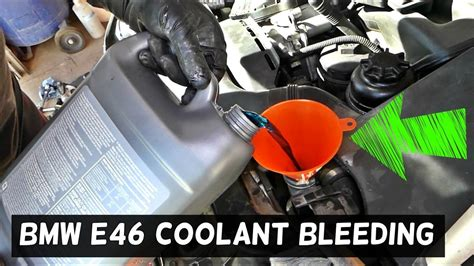bleed cooling system  bmw