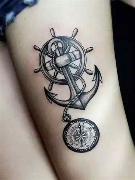 Signification Dessin Bateau by 1001 Id 233 Es Tattoo Cuisse 48 Tatouages De Caract 232 Re