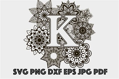 If some part of the mandala are not glued properly, you and use a piece of cardstock with. Layered Alphabet Mandala Svg For Silhouette - SVG Layered