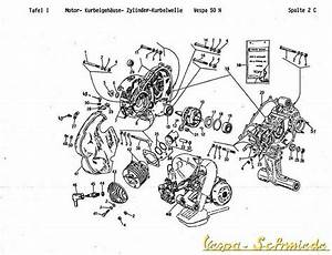 Vespa  Spare Parts List