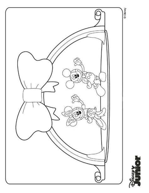 Clubhuis Mickey Mouse Kleurplaten by N Kleurplaat Mickey Mouse Clubhuis Mickey En