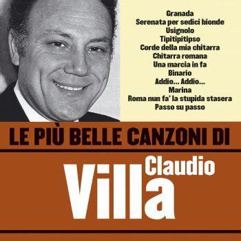 roma  fa la stupida stasera testo claudio villa