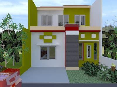 warna cat rumah minimalis  terbaru model rumah