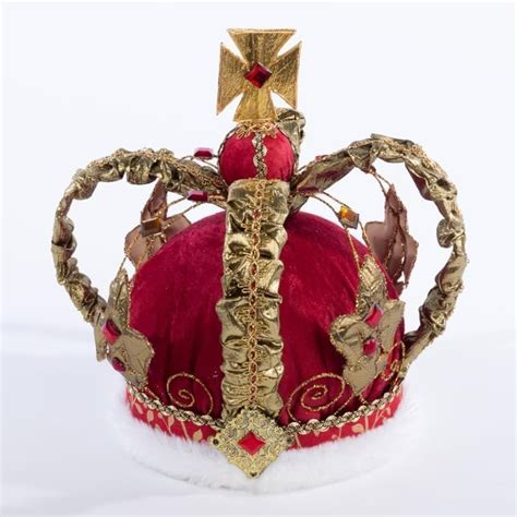 Red Crown 280mm | Christmas | V V Rouleaux